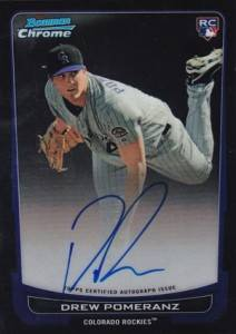 2012 Bowman Baseball Bowman Chrome Rookie Autographs Gallery 5