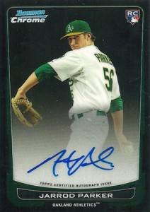 2012 Bowman Baseball Bowman Chrome Rookie Autographs Gallery 6