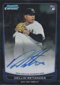 2012 Bowman Baseball Bowman Chrome Rookie Autographs Gallery 10
