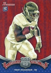 2012 Bowman Football Cards 9