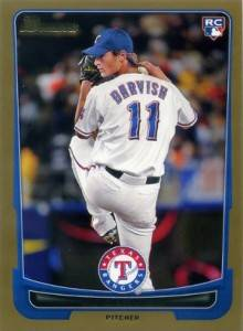 2012 Bowman Gold Yu Darvish