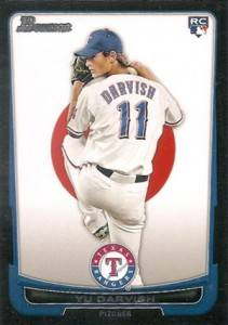 2012 Bowman International Yu Darvish