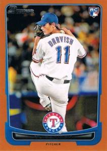 2012 Bowman Orange Yu Darvish