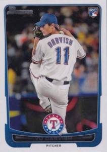 2012 Bowman Baseball Yu Darvish