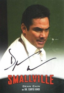 2012 Cryptozoic Smallville Seasons 7-10 Autographs A10 Dean Cain as Dr. Curtis Knox