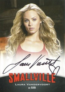 2012 Cryptozoic Smallville Seasons 7-10 Autographs A8 Laura Vandervoort as Kara