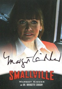 2012 Cryptozoic Smallville Seasons 7-10 Autographs A9 Margot Kidder as Dr. Bridgette Crosby