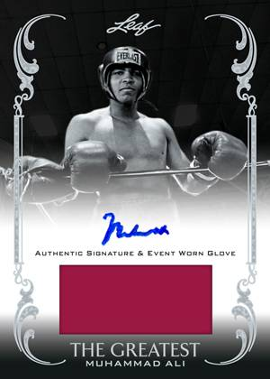2012 Leaf Muhammad Ali the Greatest Boxing Cards 23