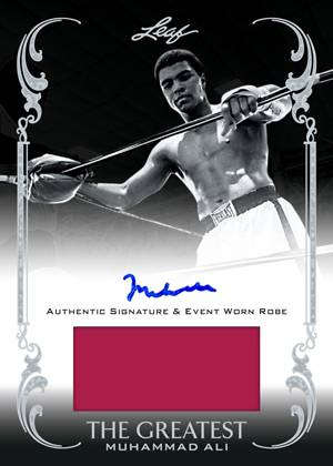 2012 Leaf Muhammad Ali the Greatest Boxing Cards 22