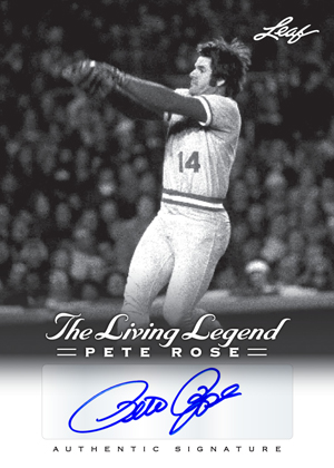 2012 Leaf Pete Rose - The Living Legend Baseball Cards 25