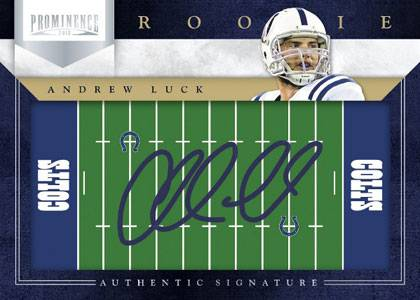 2012 Panini Prominence Football Cards 1