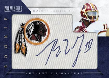 2012 Panini Prominence Football Cards 4