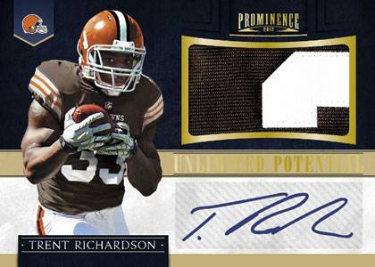 2012 Panini Prominence Football Cards 8