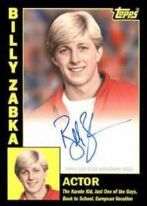 2012 Topps Archives Baseball Autographs Billy Zabka
