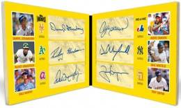 2012 Topps Archives Baseball Autographs Six Autograph Book