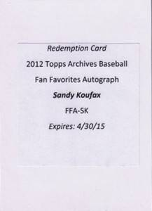 Rookies and Nostalgia Rule Early 2012 Topps Archives Sales 4