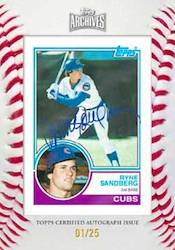 2012 Topps Archives Baseball Cards 8