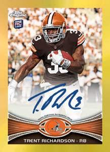 2012 Topps Chrome Football Cards 4