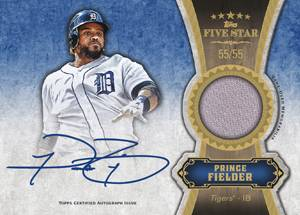 2012 Topps Five Star Baseball Cards 5