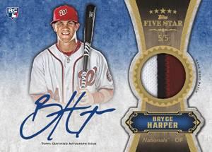 2012 Topps Five Star Baseball Cards 6