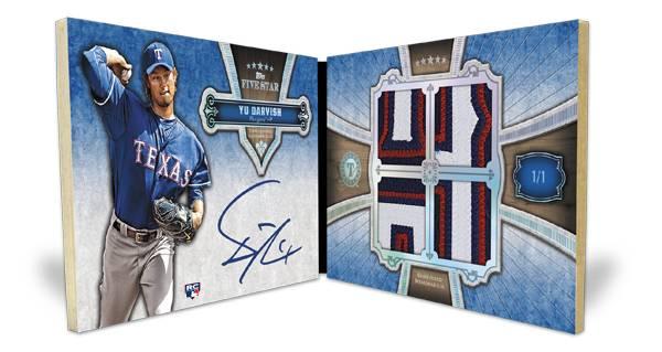 2012 Topps Five Star Baseball Cards 14