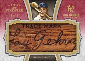2012 Topps Five Star Baseball Cards 8