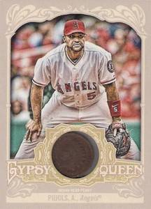 2012 Topps Gypsy Queen Indian Head Penny Relic Albert Pujols