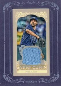 2012 Topps Gypsy Queen Mini Relic David Price