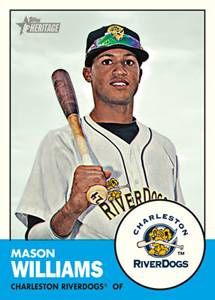 2012 Topps Heritage Minor League Checklist Info Boxes Reviews More