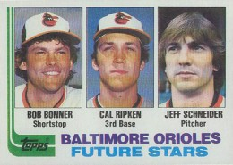 Cal Ripken Jr. Cards - 1982 Topps Baseball