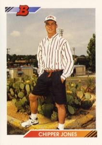 1992 Bowman Baseball Chipper Jones