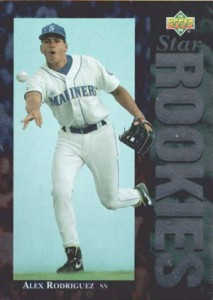 1994 Alex Rodriguez Cards - 1994 Upper Deck Alex Rodriguez Rookie Card