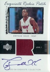 Dwyane Wade Cards - 2003-04 Upper Deck Exquisite Dwyane Wade