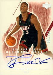 Dwyane Wade Cards - 2003-04 Ultimate Collection Dwyane Wade
