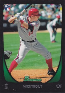 Mike Trout Cards - 2011 Bowman Draft Mike Trout