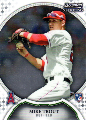 2011 Bowman Sterling Mike Trout