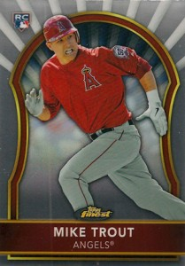 Mike Trout Cards - 2011 Finest Mike Trout