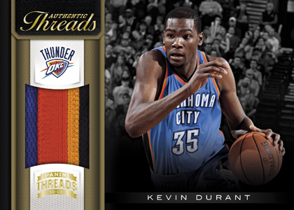 2012-13 Panini Threads Basketball Cards 4