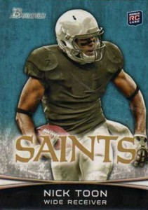 2012 Bowman Football Variations Guide 9