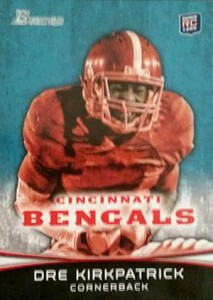 2012 Bowman Football Variations Guide 37