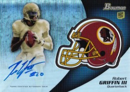Robert Griffin III Hotter Than Andrew Luck in Early 2012 Bowman Football Sales 6