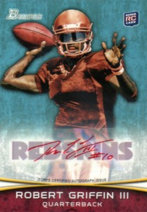 Robert Griffin III Hotter Than Andrew Luck in Early 2012 Bowman Football Sales 2