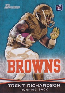 2012 Bowman Football Variations Guide 11