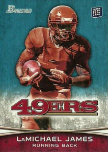 2012 Bowman Football Variations Guide 16