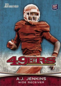 2012 Bowman Football Variations Guide 23