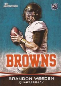 2012 Bowman Football Variations Guide 26
