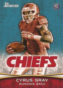 2012 Bowman Football Variations Guide 28