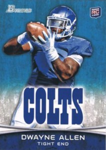 2012 Bowman Football Variations Guide 34