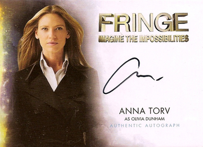 2012 Cryptozoic Fringe Seasons 1 and 2 Autographs Include Meghan Markle 1