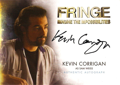 2012 Cryptozoic Fringe Seasons 1 and 2 Autographs Include Meghan Markle 10